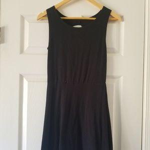Sweet little black dress open back sz. M